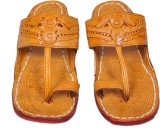 Jaipuriyaa Men Brown Sandals