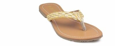 Gaiety Women Gold Flats