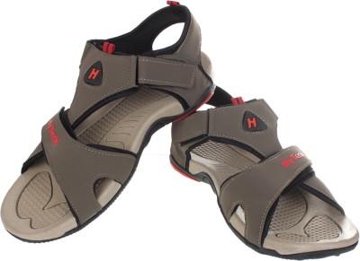 Hytech Men Brown, Red Sandals