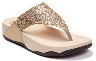 Marc Loire Women Gold Flats