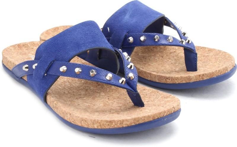 Kenneth Cole Women Women Blue Flats