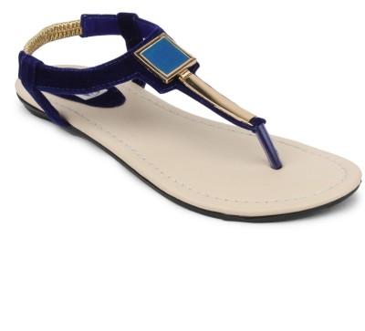 SRS Women Blue Flats
