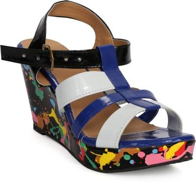 Fadrin Women Blue, Blue Heels