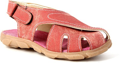 Snappy Boys Red Sandals