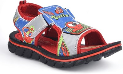 Hot Dog Baby Girls Red Sandals