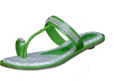 Exotique Women Green Flats