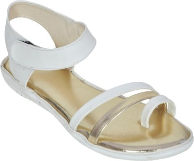 Shoe Dice Women White Sandals