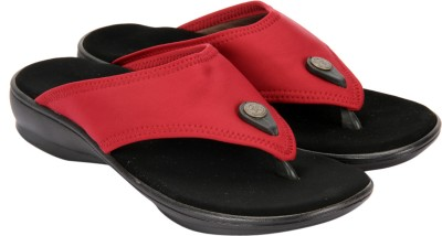Awssm Women Red Flats