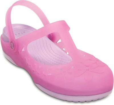 Crocs Women Pink Clogs