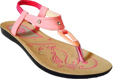 Recent Collection Women Pink Flats