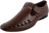 Welling Men dark brown Sandals