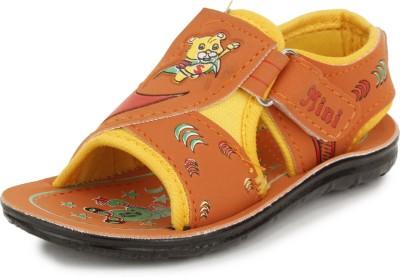 Pu-Mini ST*R Men Orange Sandals