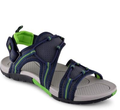 Lancer Men Blue, Green Sandals
