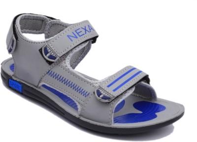 Nexa Men Grey, Blue Sandals