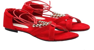 Margaux Women Red Flats