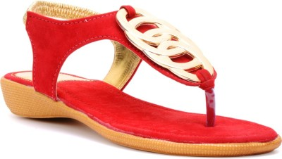 Bruno Manetti Women Red Flats