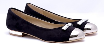 Touristor Luxe Women Black Flats