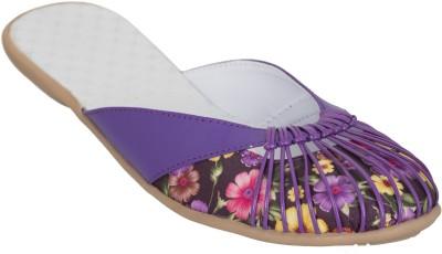 Crab Shoes Women Purple Bellies