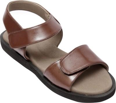 Healthsole Women Brown Sports Sandals