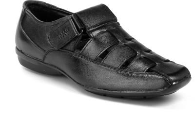 Bxxy Men Black Sandals