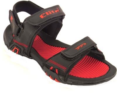 Elite Boys Black Sandals