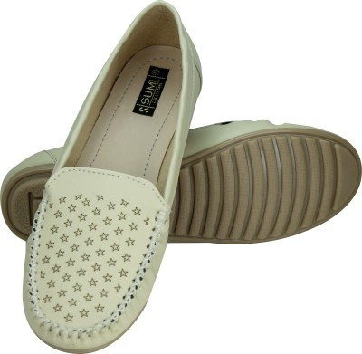 SUMI Collections Women Beige Flats