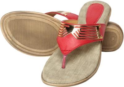 Niremo Viz Dune Glamor Women Red Flats