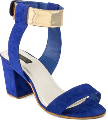 Wellworth Women Blue Heels