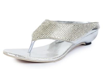 Star Style Women Silver Heels