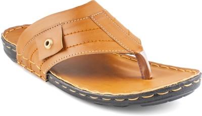 Zapatoz Men Tan Sandals
