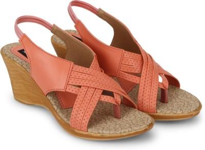 Marie Comfort Women Orange Heels