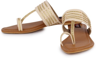 Naisha Women Beige Flats