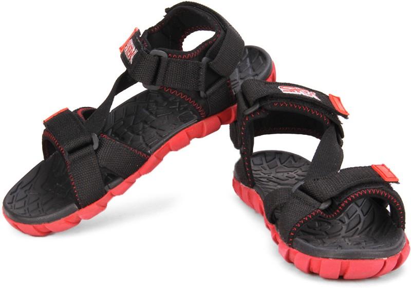 Bata F1 Men Red Black Sports Sandals