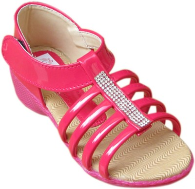 Cutie & Brat Stylish Girls Pink Sandals