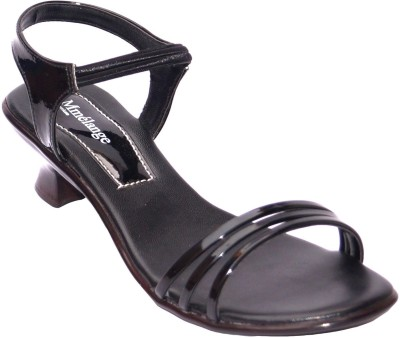 Mmelange Women Black, Black Heels