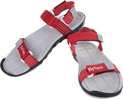 Hytech Men Red, Grey Sandals