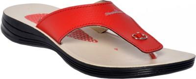 Steelwood Women Red Flats