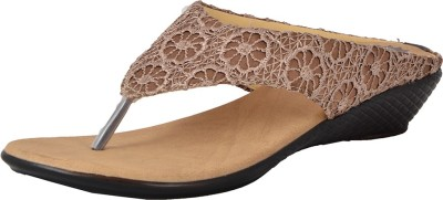 Royal Collection Women Brown Wedges
