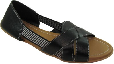 Faith 1000837 Women Black Flats
