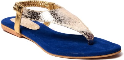 Laila Collection Women Blue Flats
