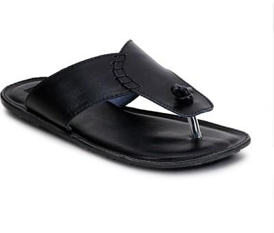 Get Glamr Men Black Sandals