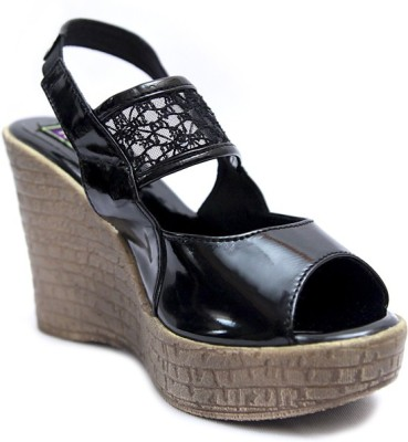 Relexop Girls Black Sandals