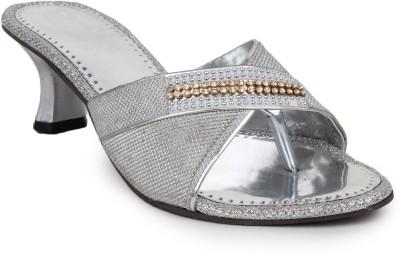 Beonza Women Silver Heels
