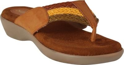 XQZITE Women Brown Flats
