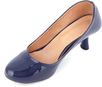 Supermine Girls Blue Heels
