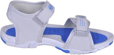 NU FEEL Boys Grey, Blue Sandals