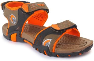 TOUCHWOOD Men Brown, Orange Sandals
