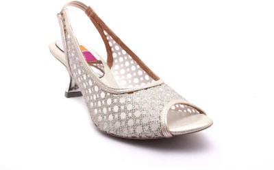 Tycoon Women Silver Heels