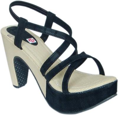 Jipsi Women Black Heels