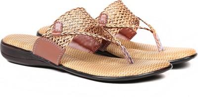 Ka Fashion Women Brown Flats